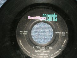 """画像1: KATHY YOUNG - A) A THOUSAND STARS  B) EDDIE MY DARLING  (Ex+/Ex+) / 1960 US AMERICA Original   Used 7"""" Single"""