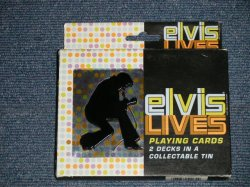 画像1: ELVIS PRESLEY - 2005 US PLAYING CARDS SET 2 DECKS IN A COLLECTABLE TIN SEALED