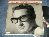 "BUDDY HOLLY  - The BUDDY HOLLY STORY  (Ex++/MINT- EDSP)  / 1963 US REISSUE ""BLACK with COLOR BAR LABEL"" MONO  Used LP"