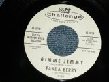 "PANDA BERRY - A) GIMMY JIMMY  B) ONE OF THESE DAYS   (Ex+++/Ex+++) / 1963 US AMERICA Original  ""WHITE LABEL PROMO"" Used 7"" Single"