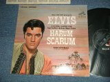 "ELVIS PRESLEY - HARUM SCARUM  ( Matrix #  A)4S / B) 6S )  (Ex+/Ex+ Looks:Ex++ EDSP ) / 1965 US AMERICA ORIGINAL ""WHITE RCA^Victor Logo on TOP, STEREO at BOTTOM Label""  STEREO Used LP"