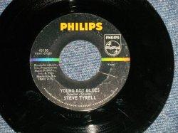 """画像1: STEVE TYRELL - A) YOUNG BOY BLUES (Cover Song of PHIL SPECTOR) B)A BOY WITHOUT GIRL (VG+++/Ex+++; SCRATCH) / 1963 US AMERICA ORIGINAL  Used  7"""" Single"""