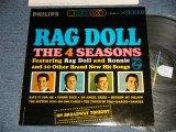 THE 4 FOUR SEASONS - RAG DOLL (Ex+++/Ex+++ Looks:MINT-)   / 1964 US AMERICA ORIGINAL STEREO used LP