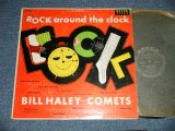 "BILL HALEY and His COMETS - ROCK AROUND THE CLOCK ( Ex++/Ex+ B-6:Poor Jump) / 1956 US AMERICA ORIGINAL ""BLACK LABEL"" MONO LP"