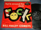 "BILL HALEY and His COMETS - ROCK AROUND THE CLOCK ( Ex+++/Ex+++, Ex) / 1956 UK ENGLAND ORIGINAL ""BLACK LABEL"" MONO Used LP"
