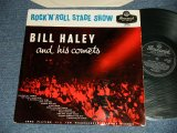 "BILL HALEY and His COMETS - ROCK 'N' ROLL STAGE SHOW ( Ex++/Ex+++) / 1956 UK ENGLAND ORIGINAL ""BLACK LABEL"" MONO Used LP"