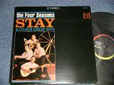 THE 4 FOUR SEASONS -  STAY & OTHER GREAT HITS (Ex++/Ex+++)   / 1964 US AMERICA ORIGINAL STEREO used LP