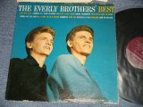 "The EVERLY BROTHERS - The EVERLY BROTHERS' BEST : ORANGE PRINT on BACK COVER  (VG++/VG++ EDSP Some Scratches) / 1959 US ORIGINAL 1st Press ""MAROON Label With METRONOME Logo"" MONO Used LP"