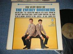 """画像1: The EVERLY BROTHERS - THE VERY BEST OF OF The EVERLY BROTHERS (Ex++/MINT B-1 Ex++, Looks:Ex++) /1965 US AMERICA ORIGINAL 1st Press """"GOLD Label""""  STEREO Used LP"""