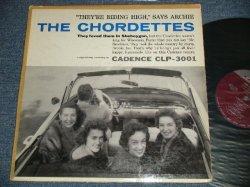 """画像1: THE CHORDETTES -THE CHORDETTES (Ex+/Ex+ Looks:Ex  EDSP, Tape Seam) / 1957  US ORIGINAL 1st Press """"MAROON Label With METRNOME Logo"""" :MONO Used LP"""