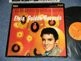 "ELVIS PRESLEY -  ELVIS' GOLDEN RECORDS (Ex++/Ex, Ex+++ A-3,4,5: SCRATCHES) /  US AMERICA REISSUE ""ORANGE Label"" STEREO Used LP"
