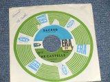 """THE CASTELLES - A) SACRED  B) I GOT DREAMY (Ex/Ex STOL) / 1961 US AMERICA Original Used 7"""" Single"""