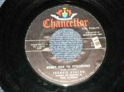 "画像1: FRANKIE AVALON - A)BOBBY SOX TO STOCKING B) A BOY WITHOUT A GIRL (Ex++/Ex++ STOL, WOL) / 1959 US AMERICA Original Used 7"" Single"