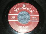 "THE CRICKETS ( BUDDY HOLLY ) -A) THINK IT OVER  B) FOOL'S PARADISE (VG+++/VG+++) / 1958 US AMERICA Original Used 7"" Single"