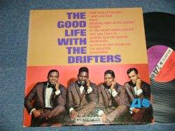"""画像1: THE DRIFTERS - THE GOOD LIFE WITH THE DRIFTERS (Ex++/Ex++ Looks:Ex, Ex+++ WOL) / 1965 US AMERICA ORIGINAL 1st Press """"RED & PURPLE with BLACK FUN Label""""   MONO Used LP"""