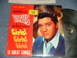 "ELVIS PRESLEY - GIRLS! GIRLS! GIRLS!  (MATRIX # A) N2PY-3295-3S  B) N2PY-3296-3S )  (Ex++/Ex+, Ex++ Looks:Ex-) / 1962 US AMERICA 1st Press ""SILVER RCA VICTOR LOGO & LIVING STEREO at bottom Label"" STEREO Used LP"
