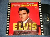 "ELVIS PRESLEY - IT HAPPENED AT THE WORLD'S FAIR (MATRIX # A) PPRM-2927-6S  B) PPRM-2928-5S )  (Ex+/Ex) / 1963 US AMERICA 1st Press ""SILVER RCA VICTOR LOGO & LONG PLAY at bottom Label"" MONO Used LP"