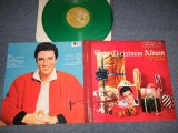 "ELVIS PRESLEY - ELVIS' CHRISTMAS ALBUM (MINT-/MINT) / 1985 US AMERICA REISSUE Limited ""GREEN WAX Vinyl"" Used LP"