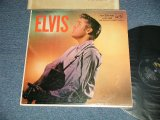 "ELVIS PRESLEY -  ELVIS (  Matrix #  A)G2 WP-7207-8S  A 2 I    B)G2 WP-7208-11S  C1  R ) (Ex+/Ex Looks:Ex-  EDSP ) / 1956 US AMERICA ORIGINAL 1st Press ""ADS on BACK COVER"" ""SILVER RCA VICTOR logo on Top & LONG PLAY at BOTTOM  Label""  MONO Used LP"