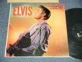 "ELVIS PRESLEY -  ELVIS (  Matrix #  A)G2 WP-7207-1S I B 2   B)G2 WP-7208-1S I B 2 ) (Ex++/MINT-  Looks:Ex++  EDSP) / 1956 US AMERICA ORIGINAL 1st Press ""ADS on BACK COVER"" ""SILVER RCA VICTOR logo on Top & LONG PLAY at BOTTOM & 1-6 Credit Track # Label""  MONO Used LP"