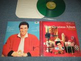 "ELVIS PRESLEY - ELVIS' CHRISTMAS ALBUM (Ex++, Ex/MINT-) / 1985 US AMERICA REISSUE Limited ""GREEN WAX Vinyl"" Used LP"