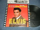 "ELVIS PRESLEY - IT HAPPENED AT THE WORLD'S FAIR (Ex+++/MINT-) / 1976 US AMERICA REISSUE ""BLACK LABEL""  Used LP"