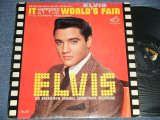 "ELVIS PRESLEY - IT HAPPENED AT THE WORLD'S FAIR (MATRIX # A) PPRM-2927-6S  B) PPRM-2928-5S )  (Ex-/Ex++ Looks:Ex SWOFC) / 1963 US AMERICA 1st Press ""SILVER RCA VICTOR LOGO & LONG PLAY at bottom Label"" MONO Used LP"
