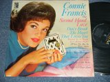 CONNIE FRANCIS -  SINGS SECOND HAND LOVE (Ex+/Ex++ EDSP)  1962 US AMERICA ORIGINAL MONO Used LP