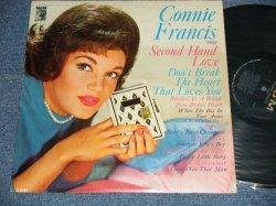 画像1: CONNIE FRANCIS -  SINGS SECOND HAND LOVE (Ex+/Ex++ EDSP)  1962 US AMERICA ORIGINAL MONO Used LP