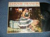 CONNIE FRANCIS - Sings Spanish & Latin American Favorites (Ex+/Ex++ Looks:Ex+++ EDSP)  1960 US AMERICA ORIGINAL MONO Used LP