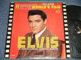 "ELVIS PRESLEY - IT HAPPENED AT THE WORLD'S FAIR (MATRIX # A) PPRM-2927-5S  B) PPRM-2928-5S )  (Ex-/Ex++) / 1963 US AMERICA 1st Press ""SILVER RCA VICTOR LOGO & LONG PLAY at bottom Label"" MONO Used LP"
