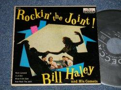 """画像1: BILL HALEY and his COMETS - ROCKIN' THE JOINT (Ex++/Ex++) / 1958 US AMERICA ORIGINAL 7"""" EP With PICTURE SLEEVE"""