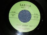 "THE BELMONTS  - A) HOW ABOUT ME B) COME ON LITTLE ANGEL (Ex++/Ex++ WOL) / 1962 US AMERICA ORIGINAL Early Press ""GREEN LABEL"" Used 7"" inch SINGLE"