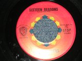 "CONNIE STEVENS - A) SIXTEEN REASONS  B) LITTLE SISTER (Ex++/Ex++)/ 1960 US AMERICA Second Pressings Used 7"" Single"