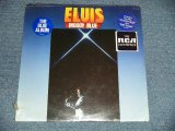 "ELVIS PRESLEY - ELVIS MOODY BLUE  (SEALED CUT OUT) / 1977 US AMERICA ORIGINAL ""BLUE WAX?"" ""BRAND NEW SEALED"" LP"