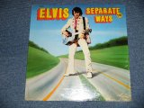 "ELVIS PRESLEY - SEPARATE WAYS (SEALED) / 1972 US AMERICA ORIGINAL ""BRAND NEW SEALED"" LP"