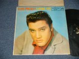 """ELVIS PRESLEY - LOVING YOU (Matrix # A) H2WP-2762-3S A3      B) H2WP-2763-3S A2 )  (Ex+/Ex  EDSP) / 1957  US AMERICA  1st Press """"SILVER RCA VICTOR logo on Top & LONG PLAY  at BOTTOM  Label""""  2nd Press """"ORANGE TITLE Credit on FRONT COVER""""   MONO Used LP"""