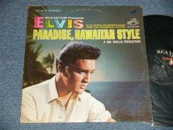 """画像1: ELVIS PRESLEY - PARADISE HAWAIIAN STYLE (MATRIX # A) TPRS 3846-3S   B) TPRS 3847-3S )  (Ex/Ex++ Looks:Ex+++ WOFC, WOBC, EDSP ) / 1966 US AMERICA ORIGINAL 1st Press """"WHITE RCA VICTOR MONAURAL at bottom Label"""" STEREO Used LP"""
