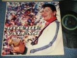 "RITCHIE VALENS - RITCHIE VALENS (Ex+ / Ex++ ) / 1960 Version US AMERICA ""BLACK with BLUE DIAMOND BORDER Ring Label""  MONO Used LP"