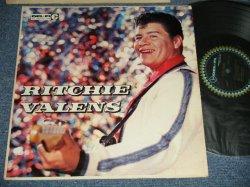 """画像1: RITCHIE VALENS - RITCHIE VALENS (Ex+ / Ex++ ) / 1960 Version US AMERICA """"BLACK with BLUE DIAMOND BORDER Ring Label""""  MONO Used LP"""
