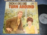 "DICK & DEE DEE - TURN AROUND ( Ex+++/MINT- ) / 1964 US AMERICA ORIGINAL 1st Press ""GRAY Label"" MONO Used LP"