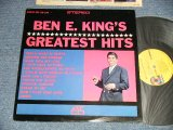 "BEN E. KING (THE DRIFTERS) - GREATEST HITS ( Ex+++/MINT-)/ 1969 Version US AMERICA ""YELLOW with 1841 BROADWAY Label"" STEREO  Used LP a"