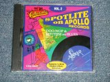 "V.A.Various OMNIBUS - SPOTLITE ON APOLLO RECORDS VOL.2(SEALED) / 1995 US AMERICA ORIGINAL ""BRAND NEW SEALED"" CD"