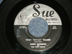 "画像1: BOBBY HENDRICKS - A) ITCHY TWIGHT FEELING B)A THOUSAND DREAMS (VG+++/VG+++) / 1958 US AMERICA Original Used 7"" inch Single"