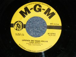 "画像1: CONNIE FRANCIS - A) LIPSTICK ON YOUR COLLAR  B) FRANKIE (Ex/Ex) / 1959 US AMERICA ORIGINAL Used 7"" 45 rpm SINGLE"