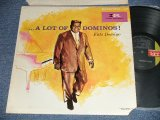 "FATS DOMINO - ...A LOTS OF DOMINOS (Ex++/Ex+++  Cut out ) /1967 Version US AMERICA  ""BLACK with GREEN Label""  STEREO  Used  LP"