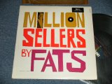 "FATS DOMINO - MILLION SELLERS BY FATS (Ex+/Ex++ Looks:Ex+++  EDSP) /1963 US AMERICA ORIGINAL 1st press ""BLACK with COLORED STARS at TOP Label""  MONO Used  LP"