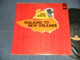 "FATS DOMINO - WALKING TO NEW ORLEANS (Ex+/Ex++ B-1, 2: VG++++  Cutout) /1967 Version US AMERICA 3rd Press ""BLACK with GREEN Label""  STEREO  Used  LP"