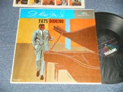 "画像1: FATS DOMINO - I MISS YOU SO (MINT-/Ex++) /1961 US AMERICA ORIGINAL 1st press ""BLACK with COLORED STARS at TOP Label""  MONO Used  LP"