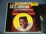 "FATS DOMINO - LET'S PLAY FATS DOMINO (VG++/Ex Looks:Ex- EDSP, WTRDMG) /1959 US AMERICA 2nd press ""BLACK with COLORED STARS at TOP Label""  MONO Used  LP"